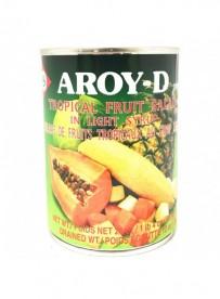 Salade de fruits tropicaux au sirop - AROY-D