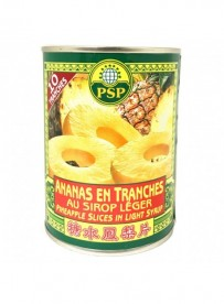 Ananas en tranche au sirop - PSP