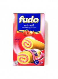 Gâteau roulé aromatisé fraise - FUDO