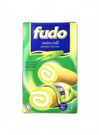 Gâteau roulé aromatisé feuille Pandan - FUDO