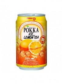 Boisson rafraîchissante aromatisée au thé et aux fruits - POKKA