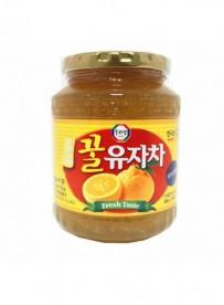 Préparation pour boisson (citron et miel)