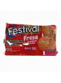 Biscuits goût fraise - FESTIVAL