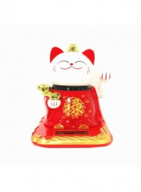 Chat maneki blanc (petit)