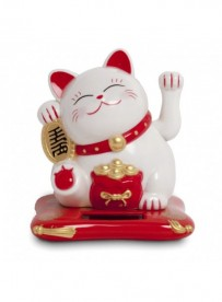 Chat maneki blanc (grand)