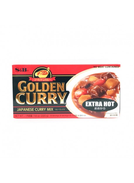 Golden curry extra fort - S&B