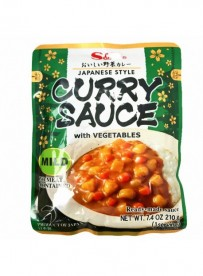 SAUCE CURRY VEGETABLE MILD - S&B