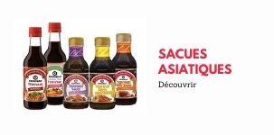 Sauces Asiatiques