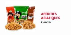 Apéritifs Asiatiques